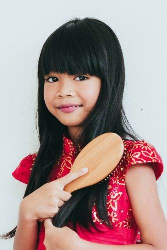 Long Little Girl Haircuts With Bangs #littlegirlhaircuts #haircuts