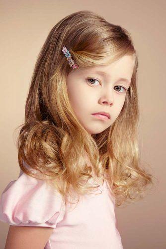 Side Parted Lob #littlegirlhaircuts #haircuts