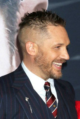 Clean Sides Lazy Spikes #tomhardy #tomhardyhaircut #haircuts
