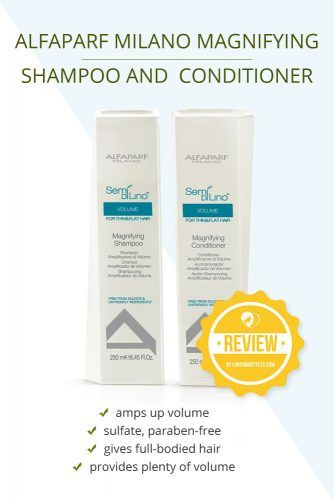 Alfaparf Milano Alfaparf Semi Di Lino Volume Magnifying Shampoo And Conditioner #shampooandconditioner #hairproducts