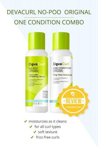 Devacurl No-Poo Original 12oz One Condition 12oz Combo #shampooandconditioner #hairproducts