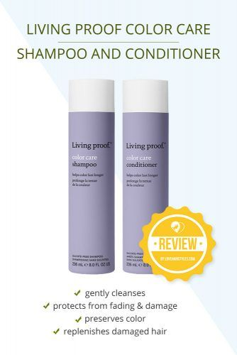 Living Proof Color Care Shampoo And Conditioner #shampooandconditioner #hairproducts