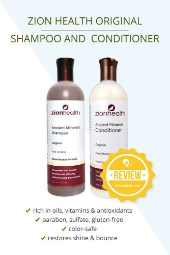 Zion Health Original Shampoo And Conditioner #shampooandconditioner #hairproducts