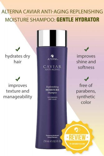 Alterna Caviar Anti-Aging Replenishing Moisture Shampoo: Gentle Hydrator #shampoo #sulfatefreeshampoo