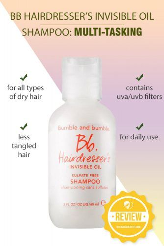 BB Hairdresser's Invisible Oil Shampoo: Multi-tasking Saving Grace #shampoo #sulfatefreeshampoo