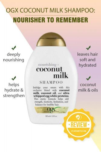 OGX Coconut Milk Shampoo: Nourisher to Remember #shampoo #sulfatefreeshampoo
