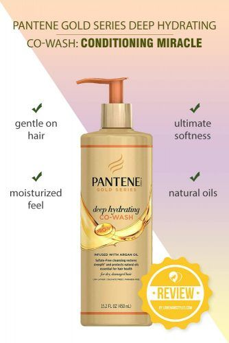 Pantene Gold Series Deep Hydrating Co-Wash: Conditioning Miracle #shampoo #sulfatefreeshampoo