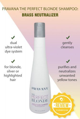 Pravana The Perfect Blonde Shampoo: Brass Neutralizer #shampoo #sulfatefreeshampoo