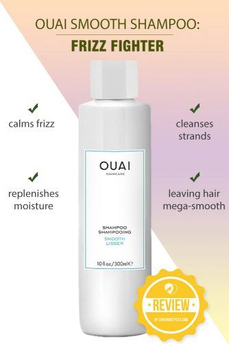OUAI Smooth Shampoo: Frizz Fighter #shampoo #sulfatefreeshampoo