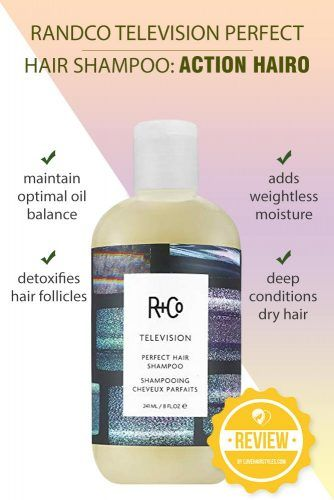 Randco Television Perfect Hair Shampoo: Action Hairo #shampoo #sulfatefreeshampoo