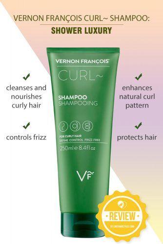 Vernon François Curl~ Shampoo: Shower Luxury #shampoo #sulfatefreeshampoo