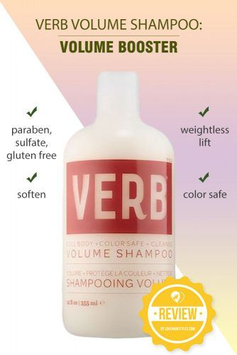 VERB Volume Shampoo: Volume Booster #shampoo #sulfatefreeshampoo