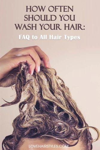 How do I start washing my hair less?