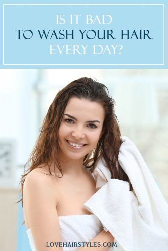 Is it bad to wash your hair every day?