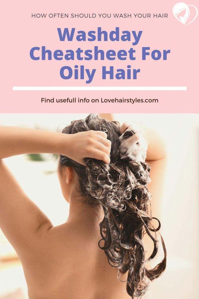 Oily Hair #howoftenshouldyouwashyourhair