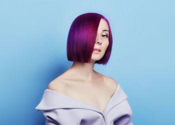 Provocative Dark Purple Hair Color Ideas