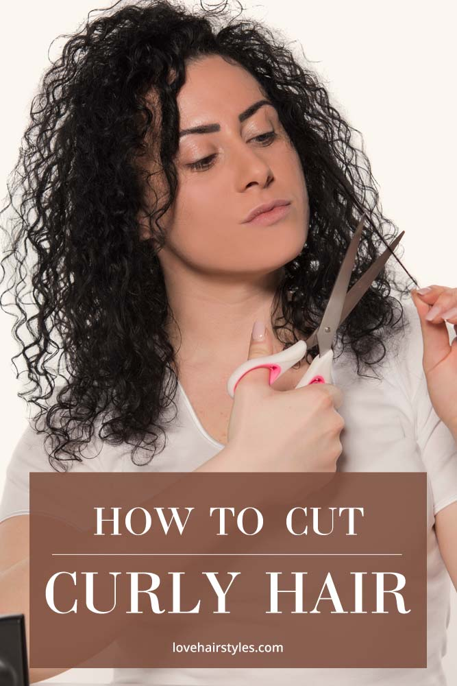 Trimming Curly Hair #howtocutyourownhair