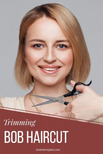 Trimming Bob #howtocutyourownhair