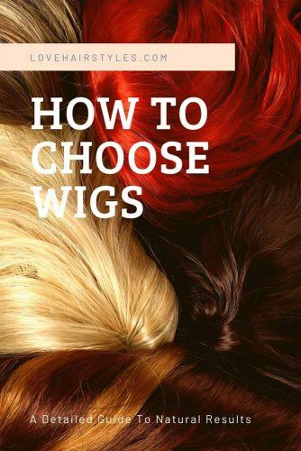 Choose Hair Type: Human, Synthetic or Heat-Friendly Synthetic Hair #wigs