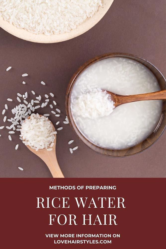 Methods Of Preparing Rice Water #ricewater #ricewaterforhair