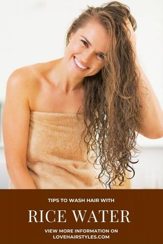 Tips to Wash Hair with Rice Water #ricewater #ricewaterforhair