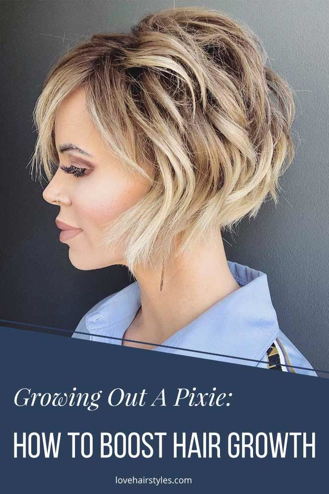 Promoting Hair Growth #growingoutapixiecut #pixiehaircut #haircuts