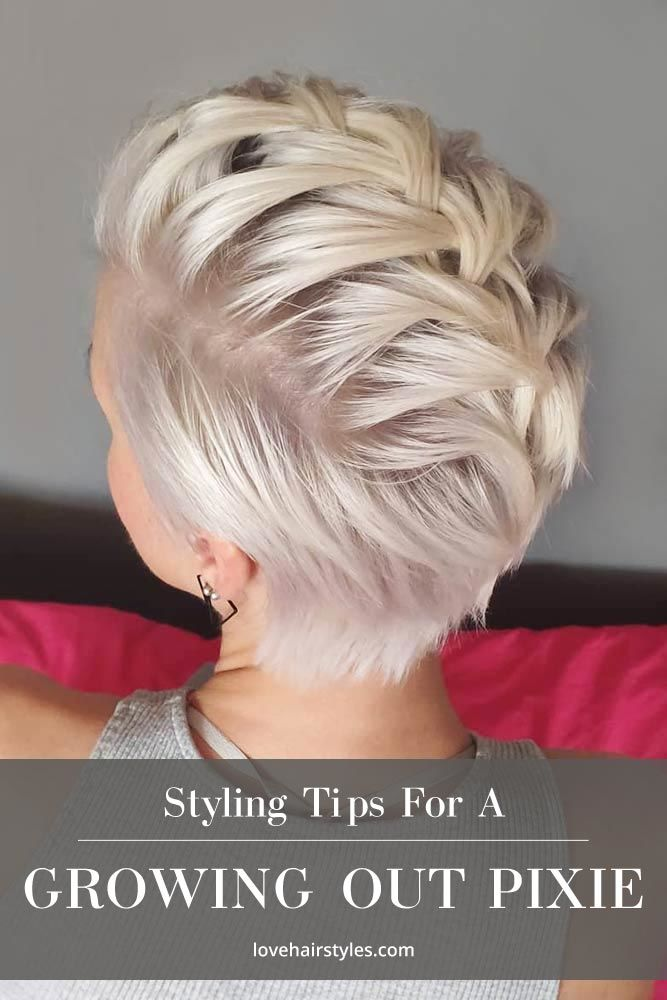 Styling A Growing Out Pixie #growingoutapixiecut #pixiehaircut #haircuts