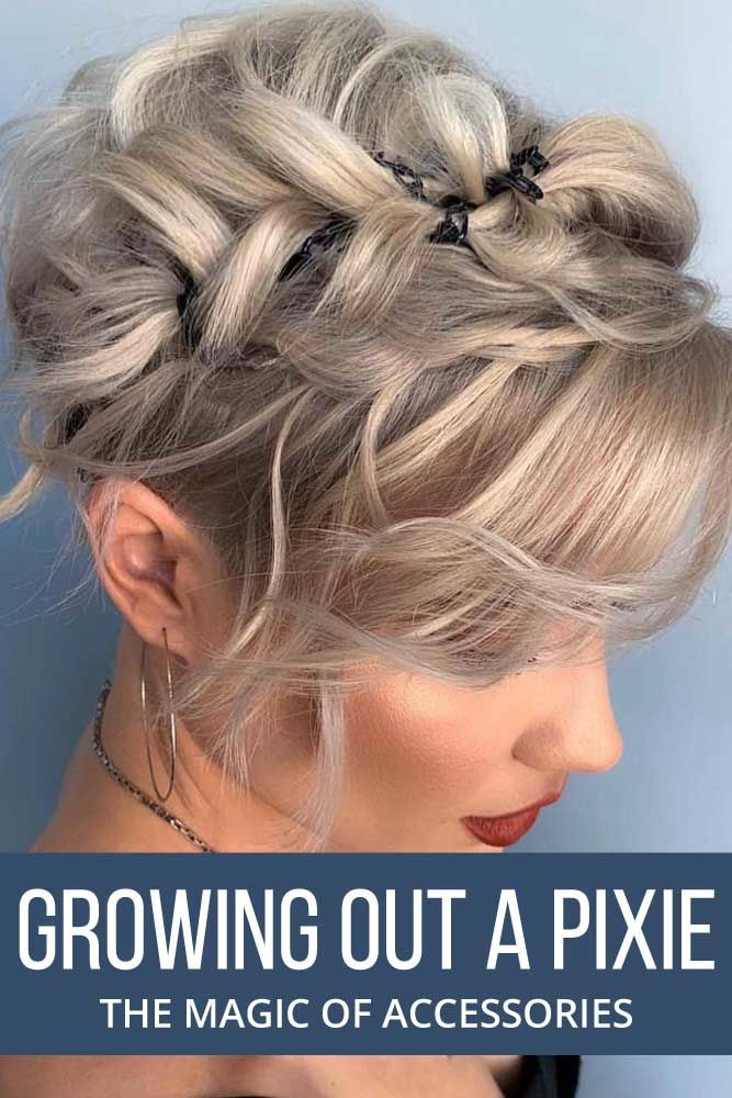 Adding Accessories #growingoutapixiecut #pixiehaircut #haircuts