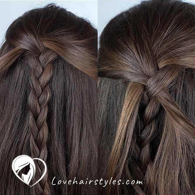 How To Mermaid Braid #braids #mermaidbraid #hairtutorials