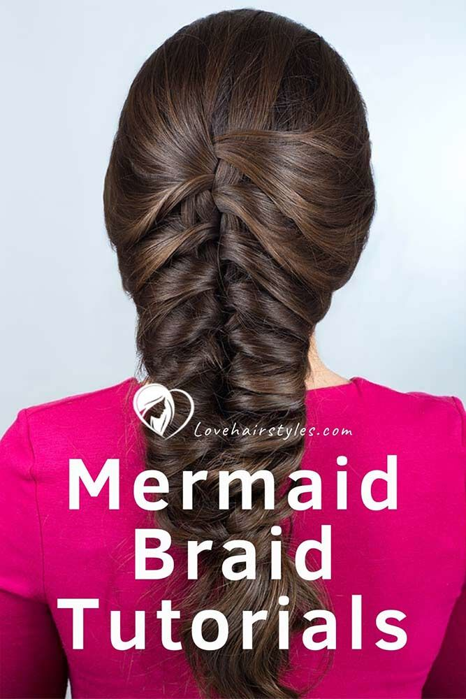 Mermaid Braid #braids #mermaidbraid #hairtutorials