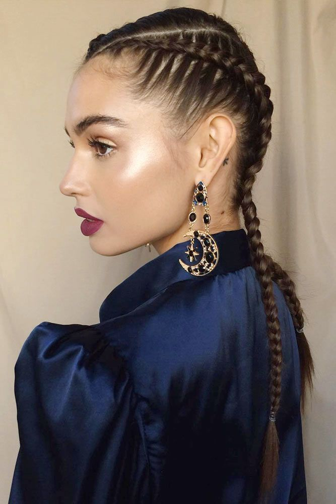 Easy and Cool Braided Pigtail Styles for You