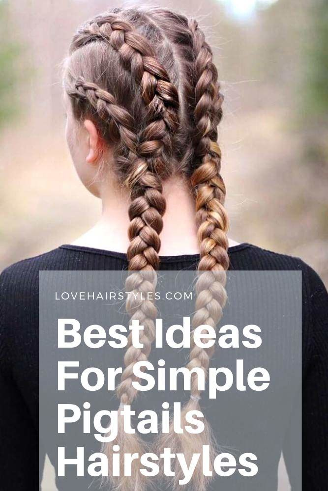 Do pigtails have to be braided?