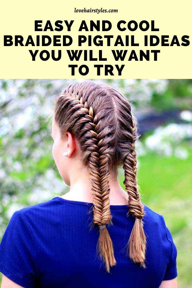 What is a pigtail hair?