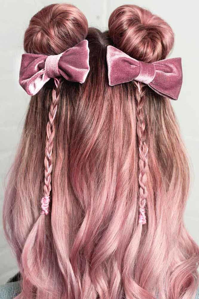 Long Pink Buns
