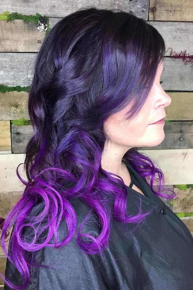 Plummed Up Purple #plumhaircolor #plumhair