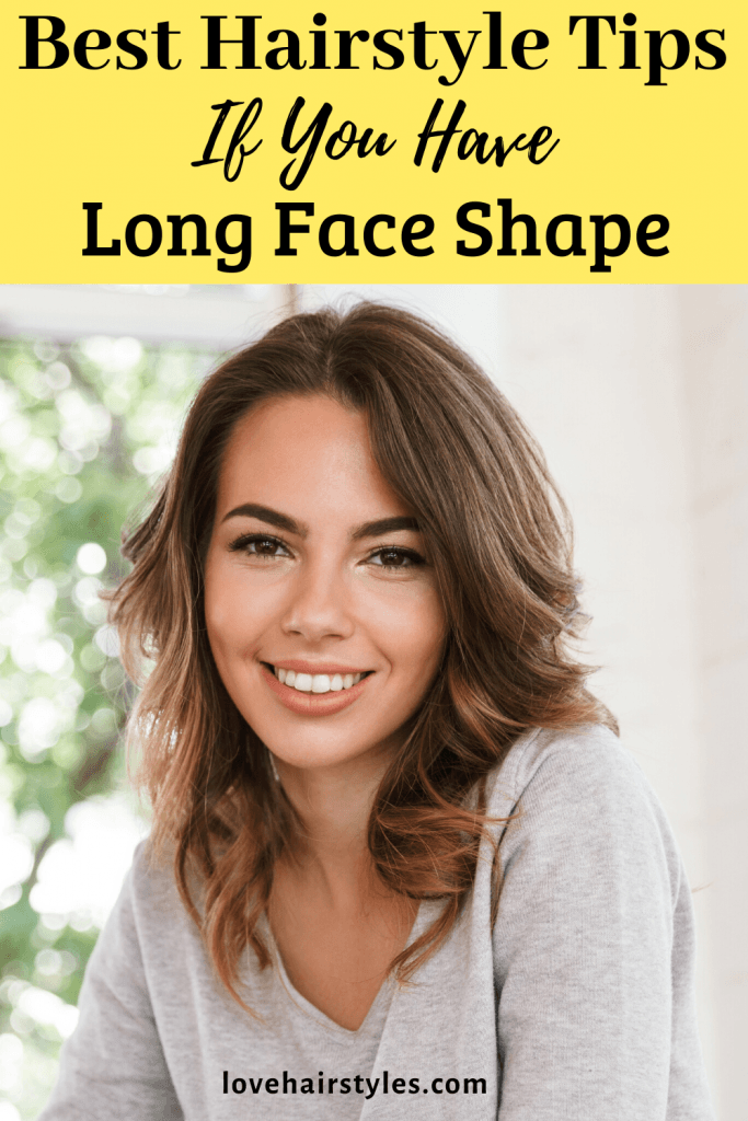 Beautiful Brown Wavy Layered Hairstyle For Long Faces