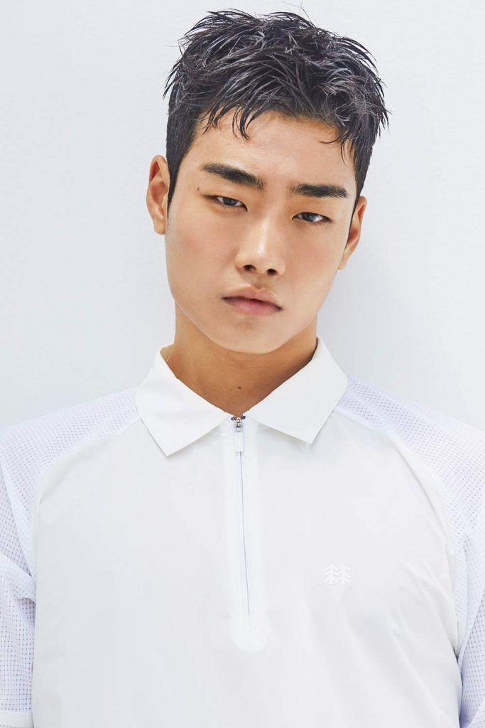 The Feathery Korean Men Haircut #koreanmen #koreanhaircuts #koreanhairstyles