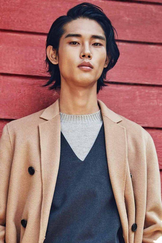 The Layered Korean Men Haircut #koreanmen #koreanhaircuts #koreanhairstyles