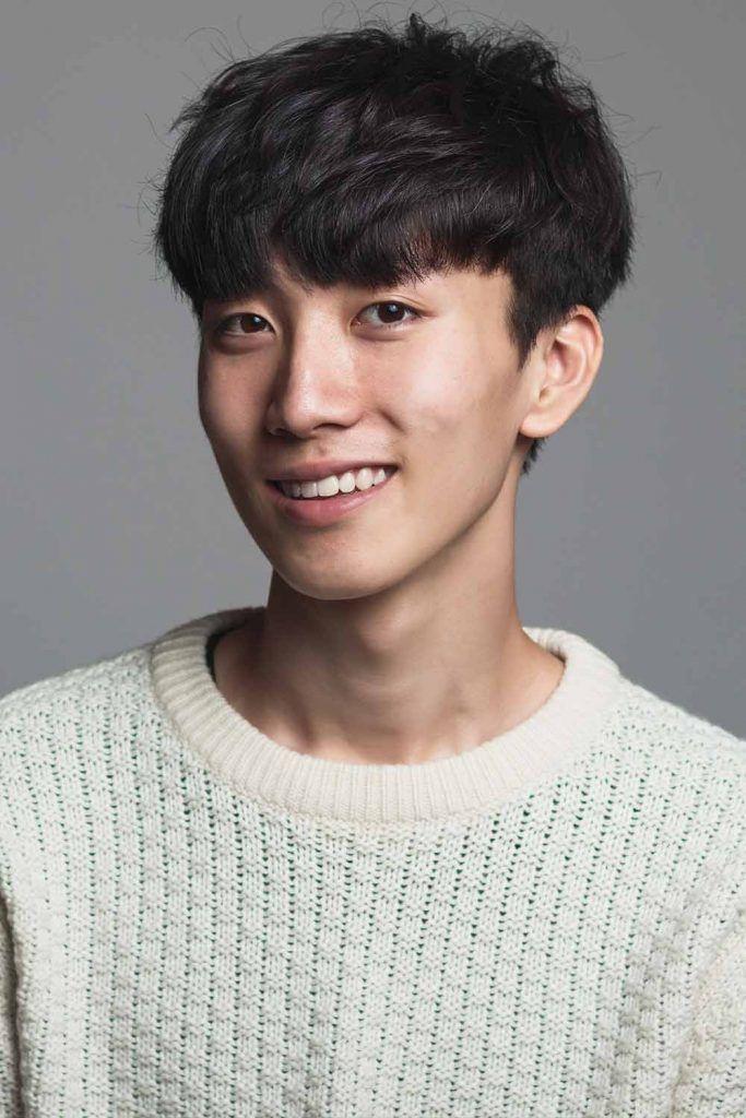 The Modern Bowl Haircut #koreanmen #koreanhaircuts #koreanhairstyles