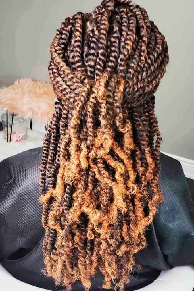 African twisted hair you will wanted to try