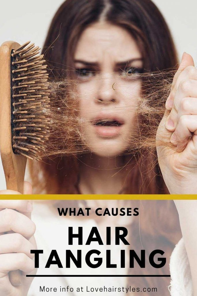 What Causes Tangled Hair? #matted hair #howtodetanglemattedhair #tangledhair