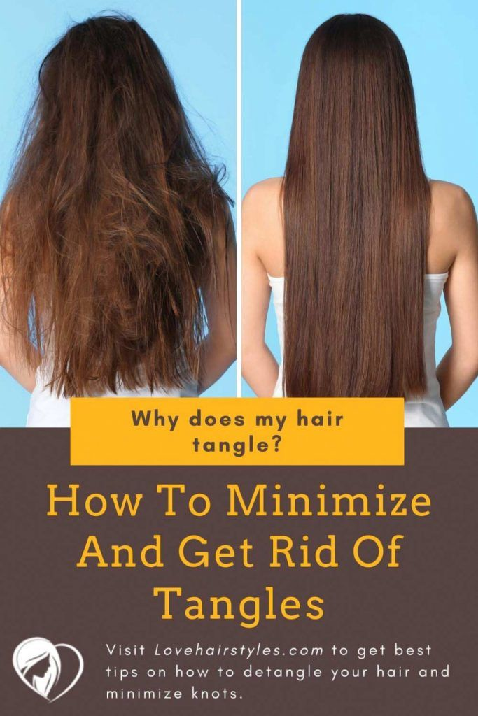 How To Minimize And Get Rid Of Tangles #matted hair #howtodetanglemattedhair #tangledhair