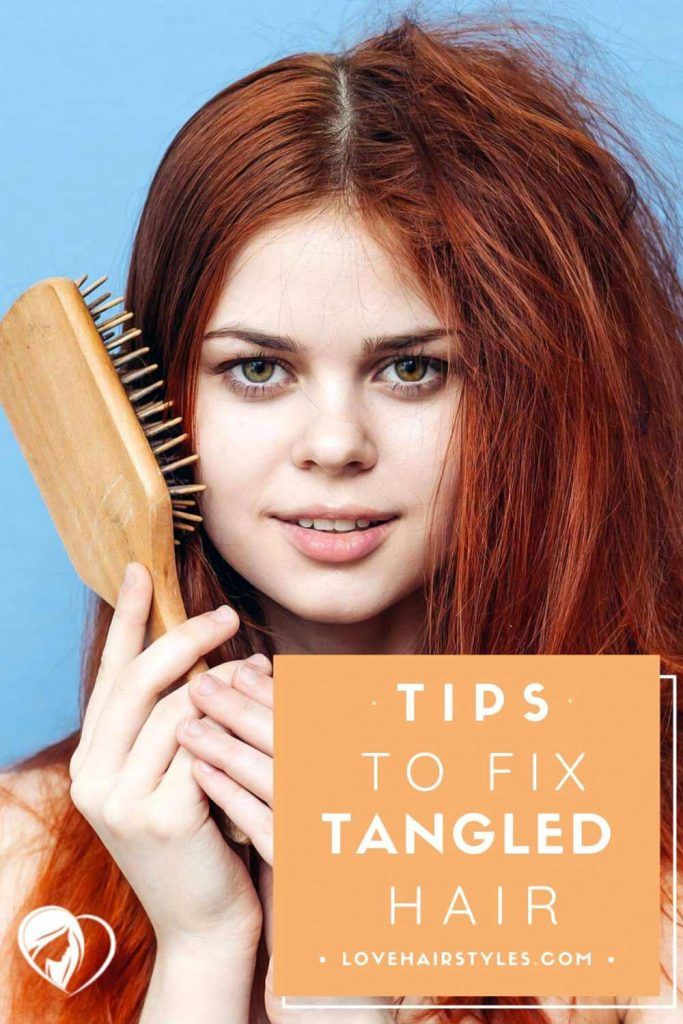 Tips To Fix Tangled Hair #matted hair #howtodetanglemattedhair #tangledhair