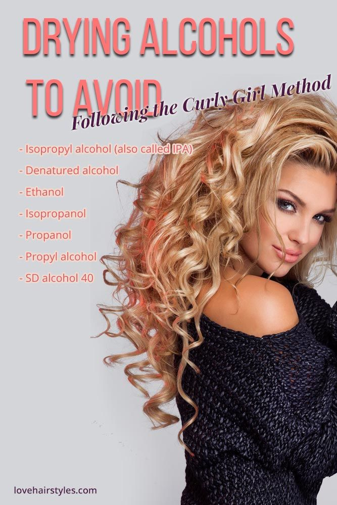 Drying Alcohols List to Avoid In The CG Routine
