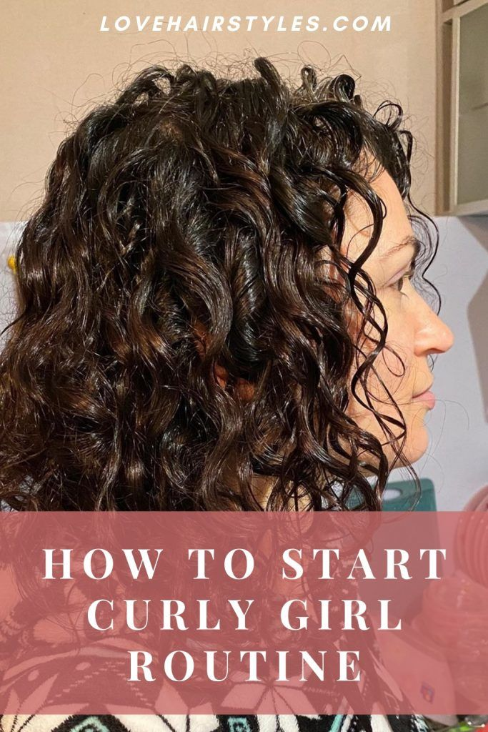 How to Start Curly Girl Method?