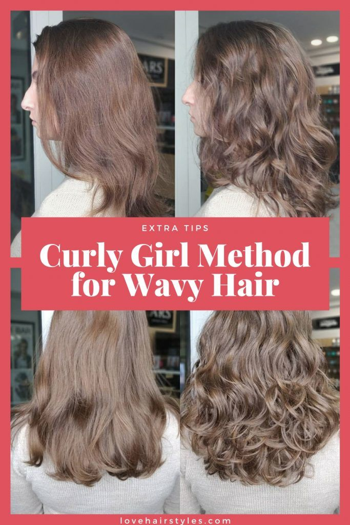 Does curly girl method work for wavy hair?