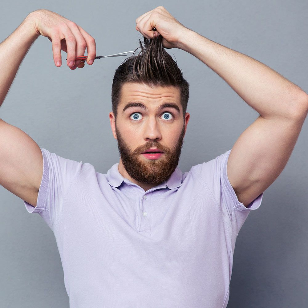 Tips On How To Cut Your Own Hair #howtocutmen #menshaircuts #howtocutyourselfmen