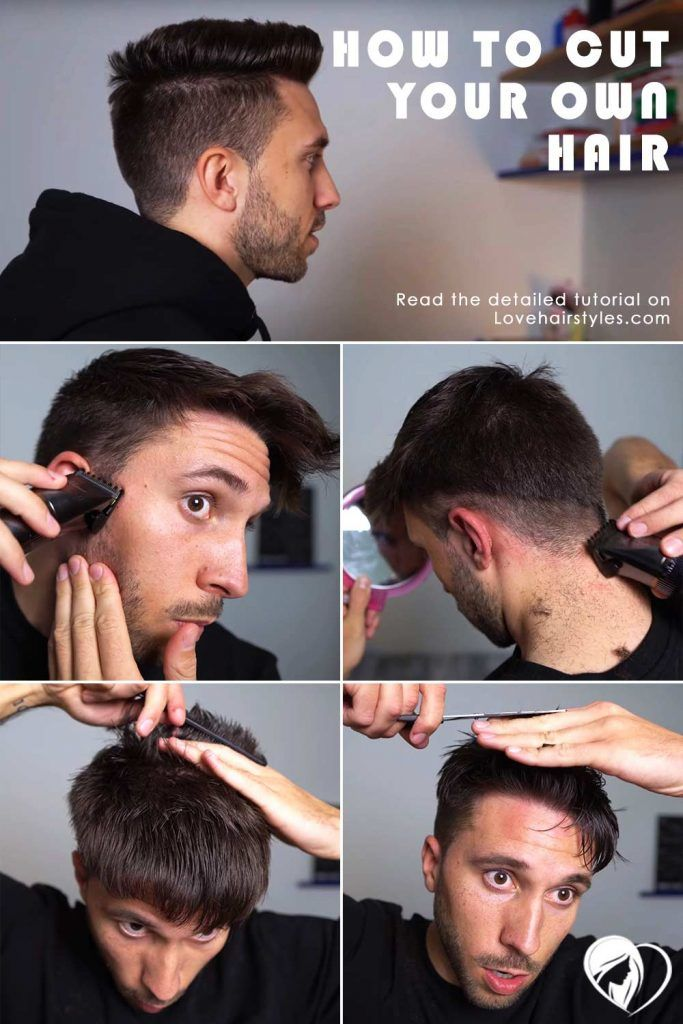 How Do You Cut Your Own Hair Step By Step #howtocutmen #menshaircuts #howtocutyourselfmen