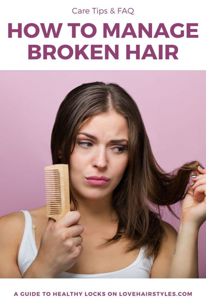 How To Manage Broken Hair #damagedhair #hairtreatment