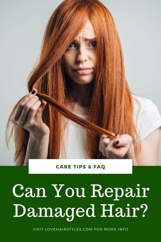 Can You Repair Damaged Hair? #damagedhair #hairtreatment